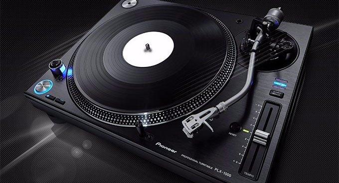 platine pioneer plx1000