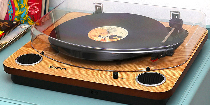 platine-vinyle-ION-Max-LP-Wood-