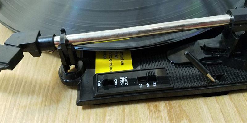Platine vinyle Ion Max LP Wood