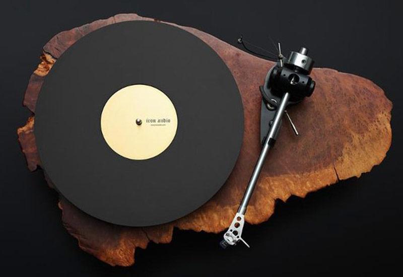 platine vinyle bois