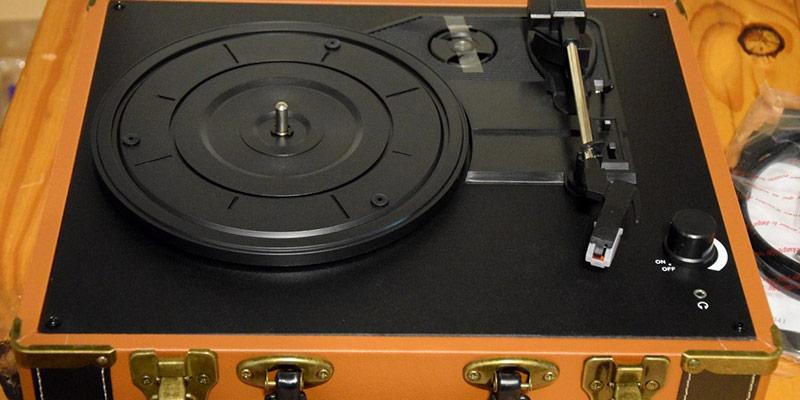 platine vinyle portable