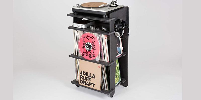 meuble platine vinyle