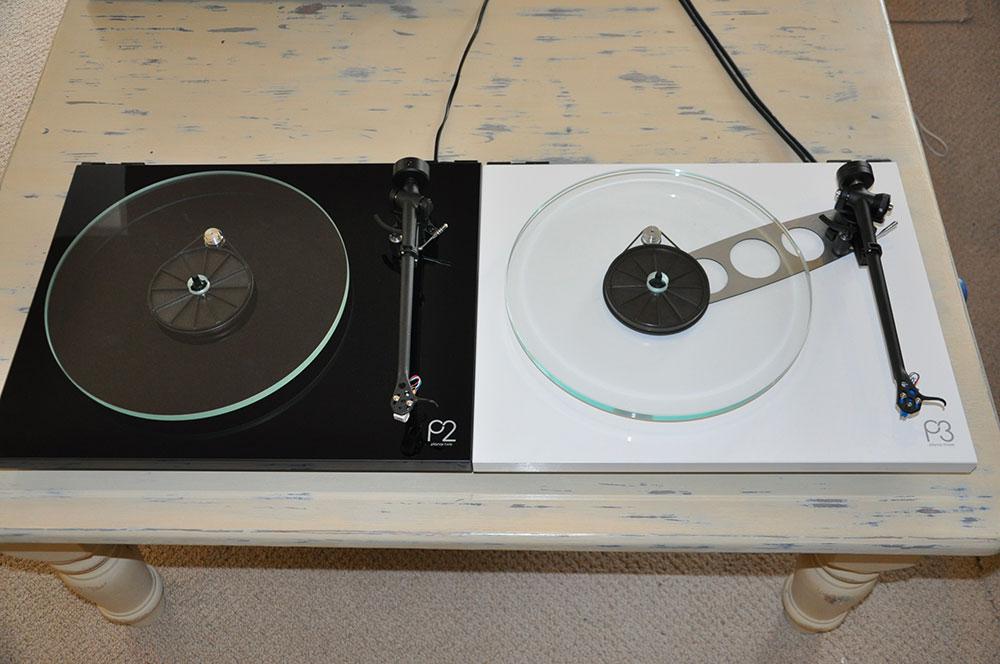 Platine-Rega-Planar-2-vs-planar-3