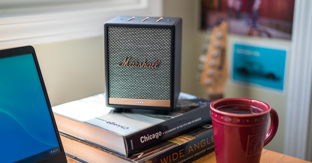 enceinte bluetooth marshall Uxbridge avis test